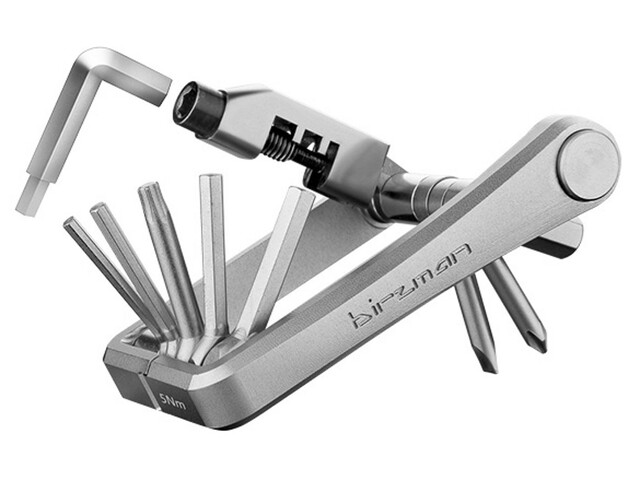 Birzman M-Torque Bike Tool 10 Function silver